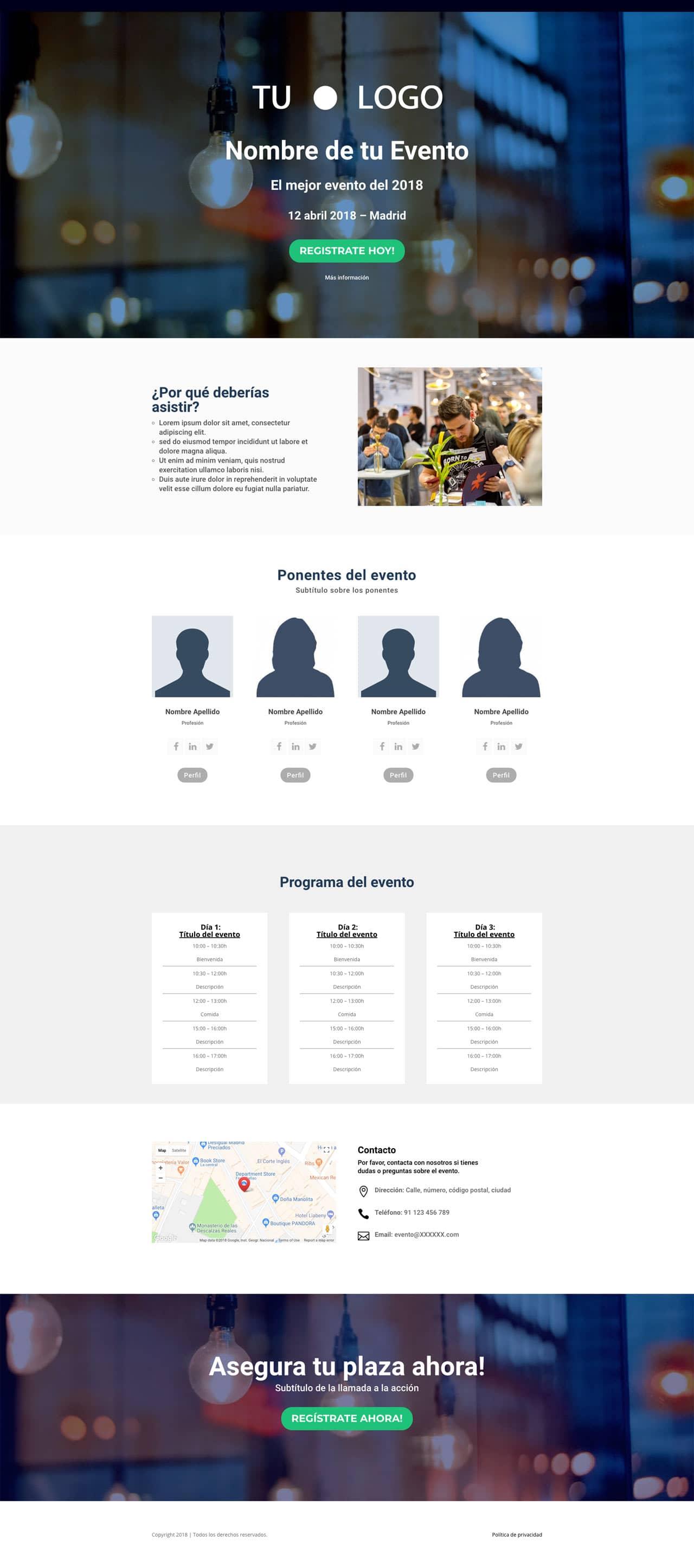 Plantillas web embudos de venta | Avanzadores.com